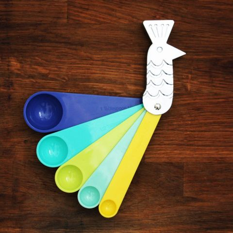 peacook measuring spoons