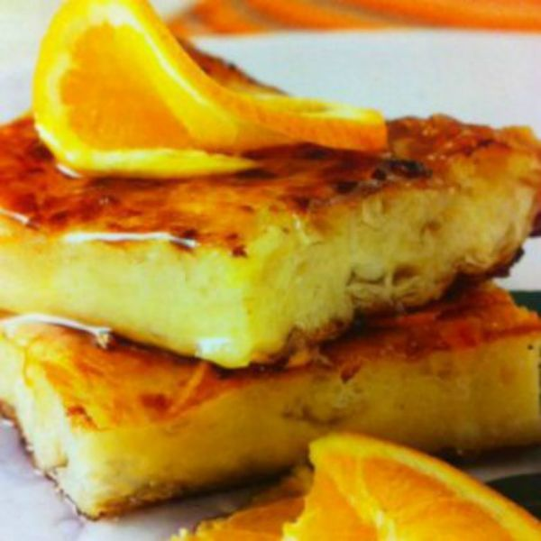 So easy and so delicious. Recipe here http://www.icookgreek.com/en/recipes/desserts/item/portokalopita-orange-pie?category_id=291