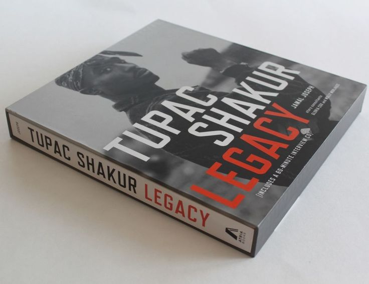 Tupac Shakur Legacy Hardcover Slip Cover Edition Book & 60 Minute Interview CD