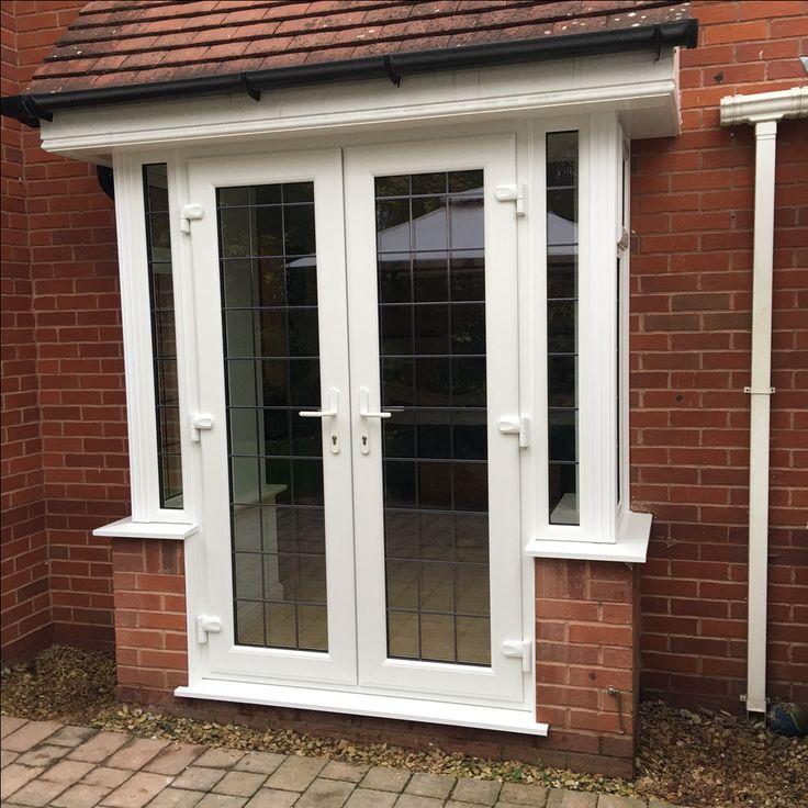 PVC French door bay window