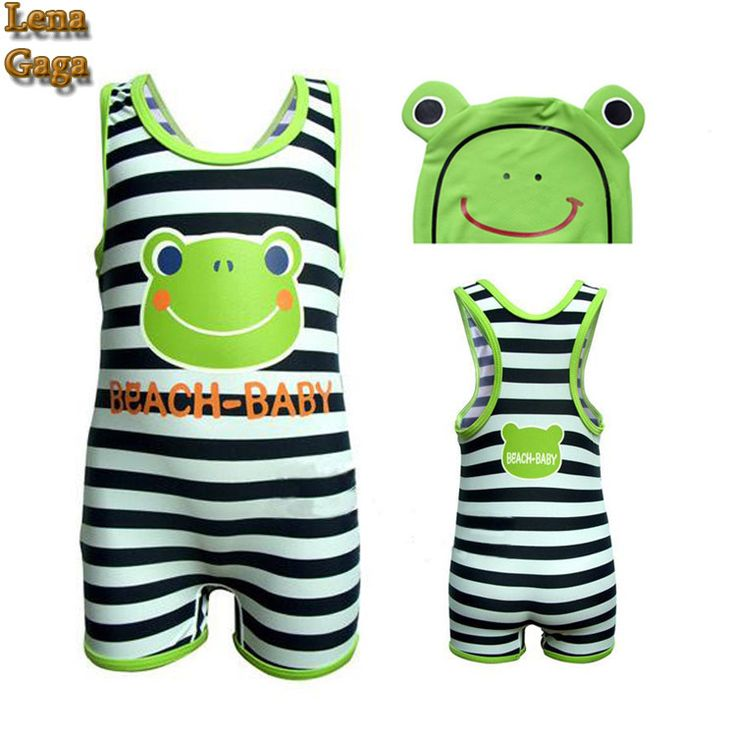 Lena Gaga Children Baby Boys One Piece Swimsuit Fancy Swimwear With Swimming Cap&BOYLEG Pants For Girl/Kids/Boy Clothing