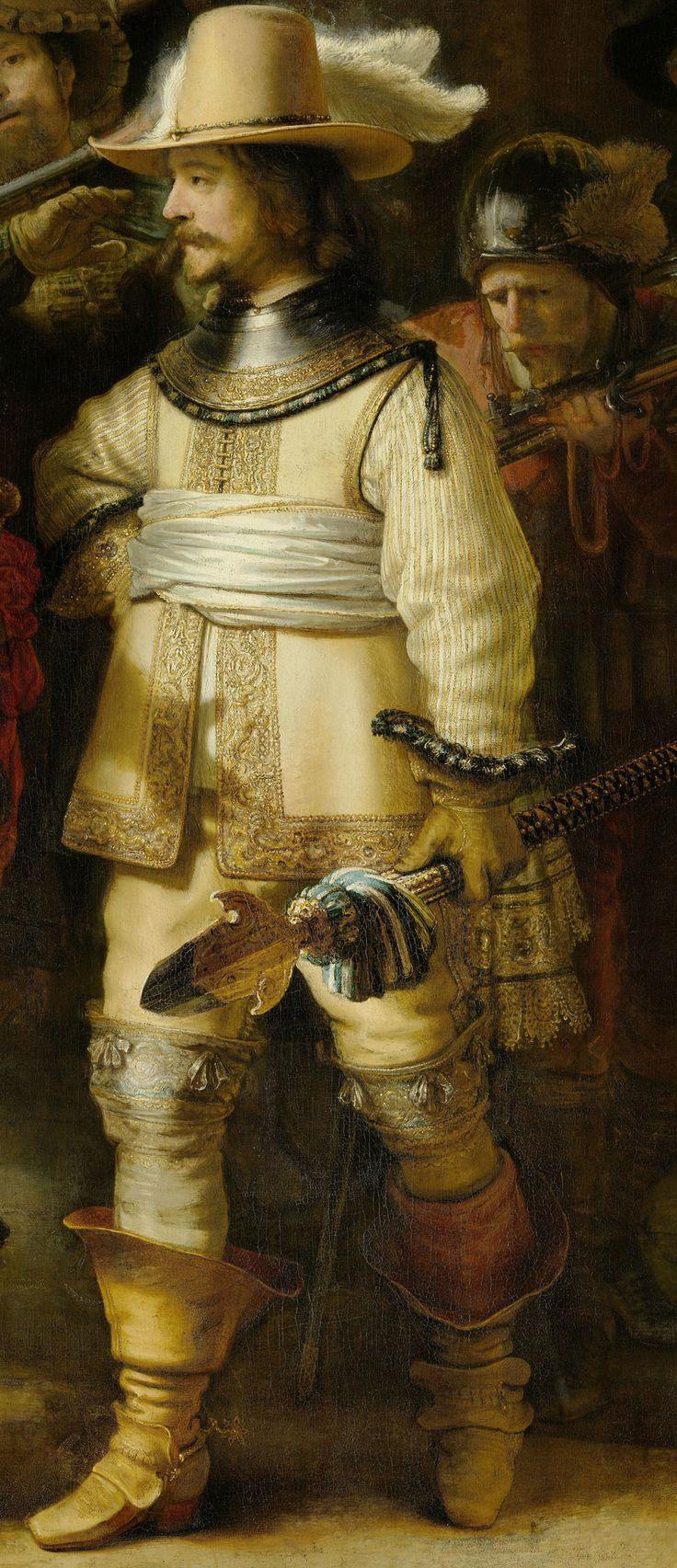 Rembrandt - Nachtwache.The Night Watch. 1642 detail