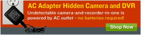 Covert cameras are the ultimate addition to any personal security system. And now, with new innovations and manufacturing techniques, a hidden camera isn't out of your budget! Our online store is proud to carry nearly every covert camera model, and we're proud to be one of the top hidden camera dealers online.