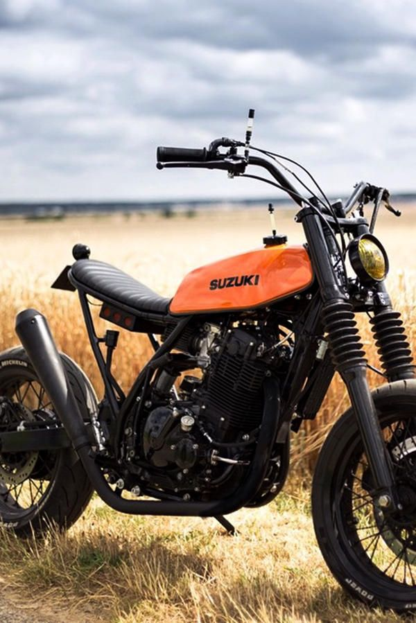 aec5072c933 Custom Suzuki DR650 Scrambler by Le French Atelier | Cars and Bikes ...