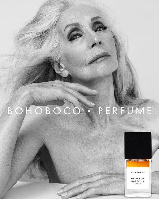 BOHOBOCO • PERFUME CAMPAIGN Actress Helena Norowicz is the new  ambasador of OLIBANUM GARDENIA PERFUME  #bohoboco #perfume #campaign #model #helenanorowicz #fashion #beauty