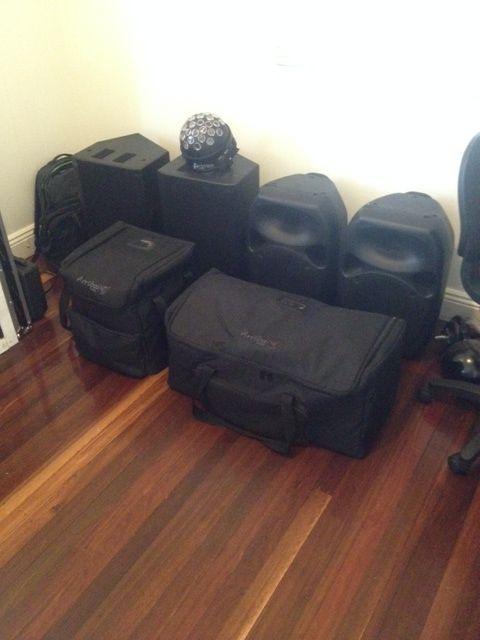 Wedding DJ Brisbane - Wedding Mashers Professional DJ hire in Brisbane. Gear all tested and tagged!