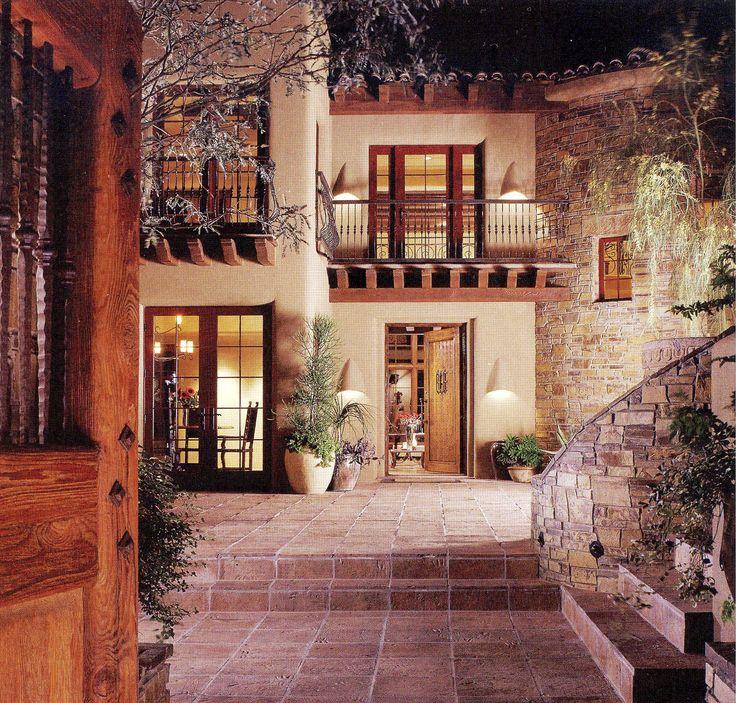 Best 25 Mediterranean Style Homes Ideas On Pinterest: 25+ Best Ideas About Spanish Courtyard On Pinterest
