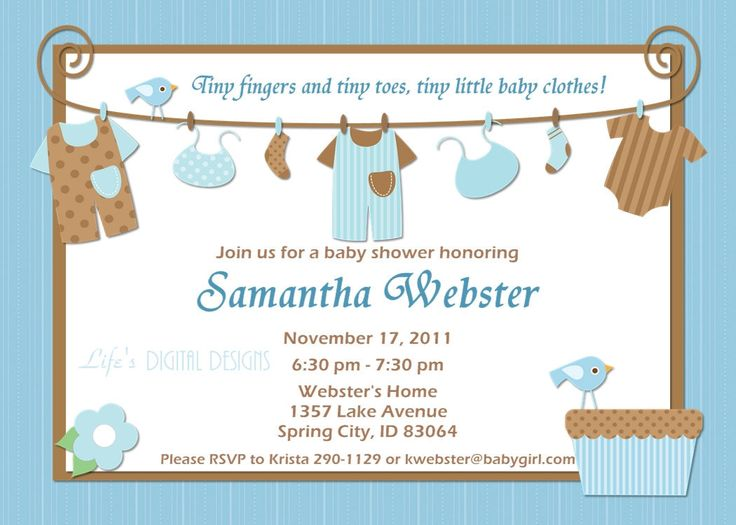 203 best Baby Shower Invitation Card images on Pinterest - free baby shower invitation templates for word