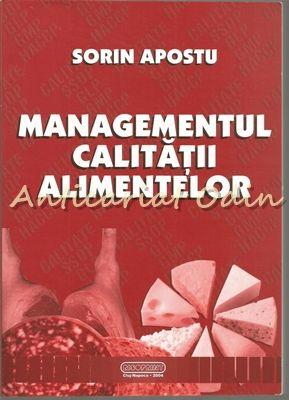 Managementul Calitatii Alimentelor - Sorin Apostu