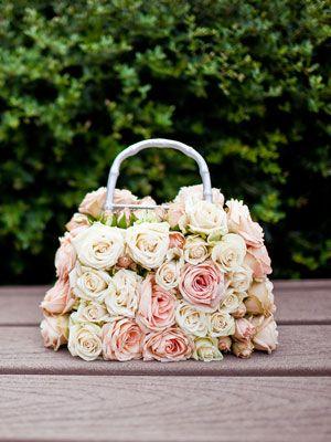 Flower girl purse
