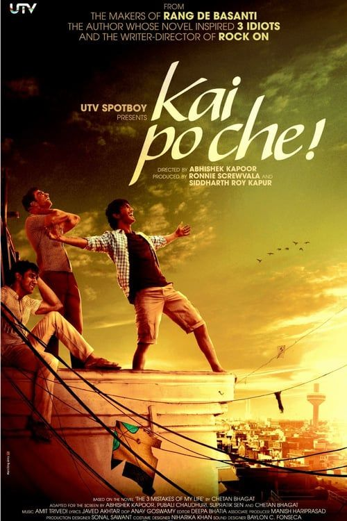 Kai Po Che! FULL MOVIE HD1080p Sub English ☆√ ►► Watch or Download Now Here 👉 《 PINTEREST 》 ☆√