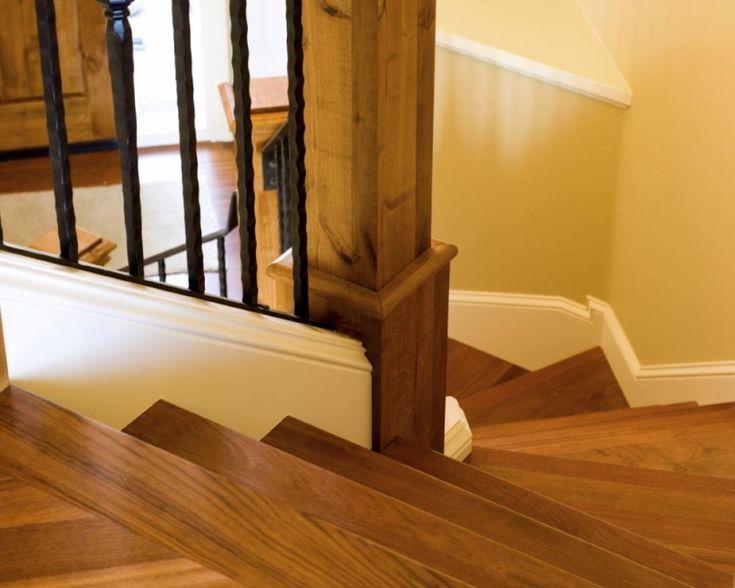 Malowanie drewnianej balustrady