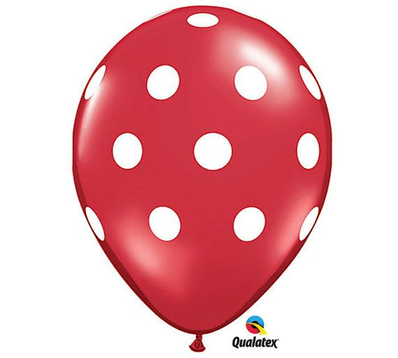 "10 pcs Qualatex Gold Polka Dot Balloons Helium Air Quality Birthday Baloon 12/"""