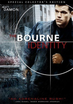 The Bourne Identity- Matt Damon's character exudes intelligence and masculinity in this film. Something I want to portray as well.