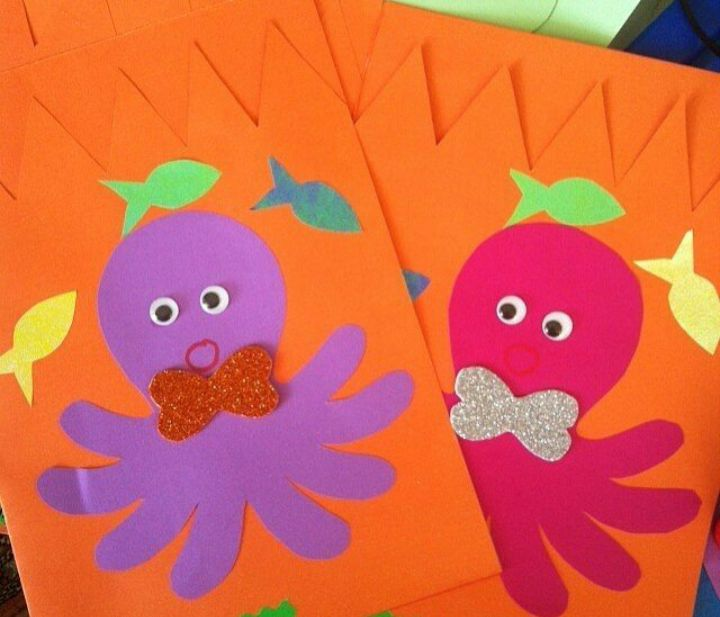octopus garden preschool 26 best plate crafts images on for 290