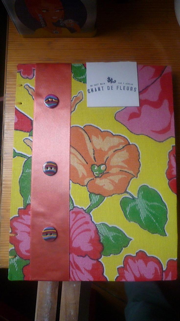 Chant de Fleurs: cahier artisanale - Priscilla Achcar