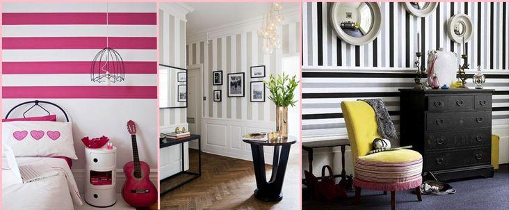 Come dipingere le pareti a righe orizzontali o verticali (VIDEO)