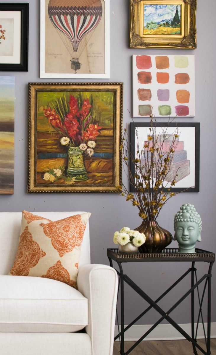 Gallery Wall Creative Home Decor Inspiration