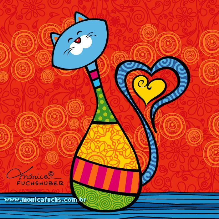Dia Mundial dos Gatos. Cats.
