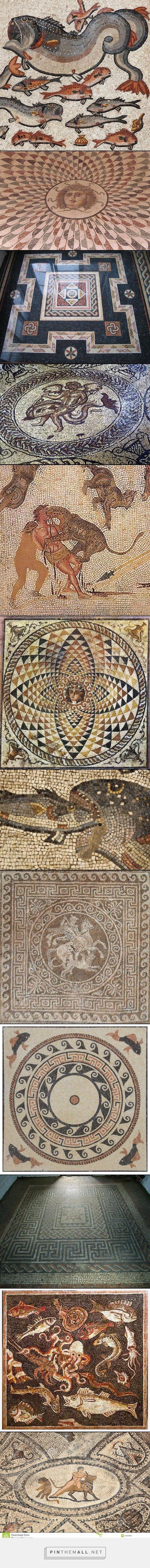 Римская мозаика - created via http://pinthemall.net