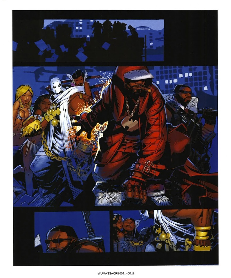 Wu Disciples: THE WU-TANG COMICS THAT NEVER WERE: WU-MASSACRE art ...
