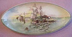 Royal Doulton Series ware Home Waters D.6434 Oval
