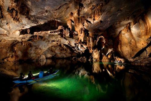 Rio Subterrâneo Puerto Princesa, Filipinas