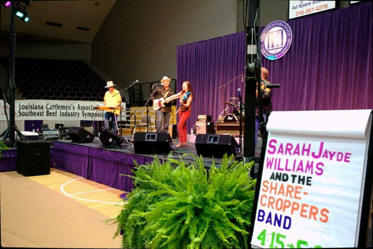 Sarah Jayde Williams and the Sharecroppers Band; 34th Annual Natchitoches-NSU Folk Festival, 2013