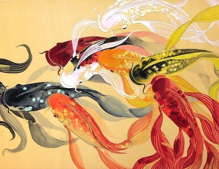 Best 25 koi wallpaper ideas on pinterest bathroom for Koi papillon
