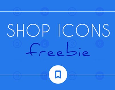 """Check out new work on my @Behance portfolio: """"Shop Icons Freebie"""" http://on.be.net/1vH3kRv"""