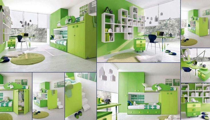 decoración verde
