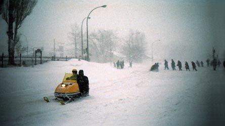 Tempête du siècle, mars 1971
