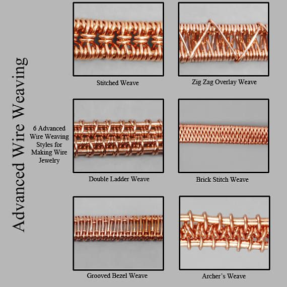 Advanced Wire Weaving  Wire Wrapped Jewelry Tutorial