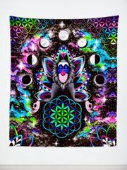 Astral Rafiki Tapestry | Tapestry - Electro Threads
