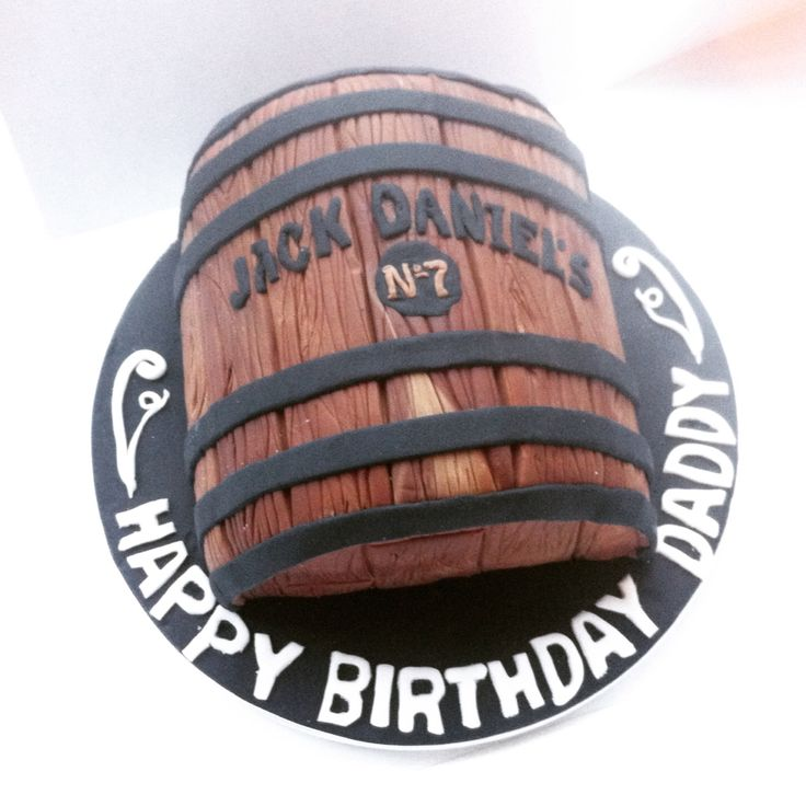Jack Daniels barrel cake by Amber Rose Cakes, the final cake of 2014