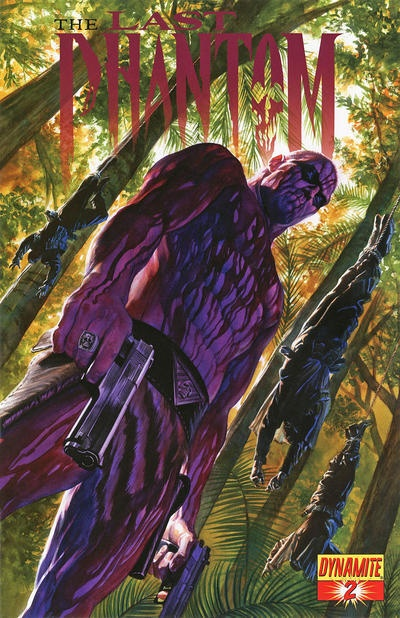 A lot of people didn't like this redesign of Lee Falk's Phantom, but I dug it. The Phantom by Alex Ross