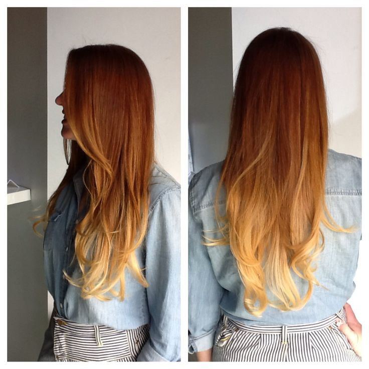 Natural Red Hair Ombre Www Pixshark Com Images