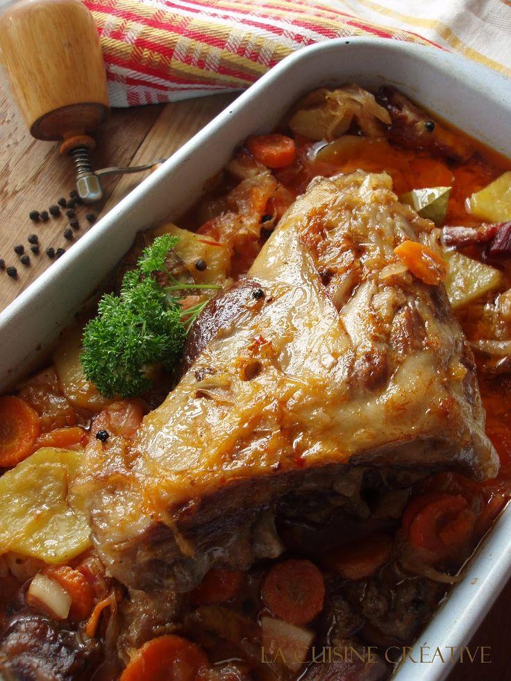 Jedan pravi gurmanski recept za hladne zimske dane, a glavni chef u kuhinji je ovog puta bio tata.:) Ovaj recept je sasvim slučajno na...