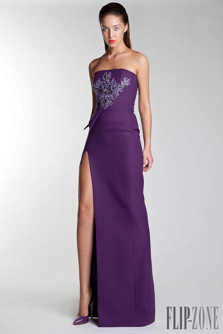 14 best NOCHE EN VIOLETA images on Pinterest | Evening gowns, Bridal ...