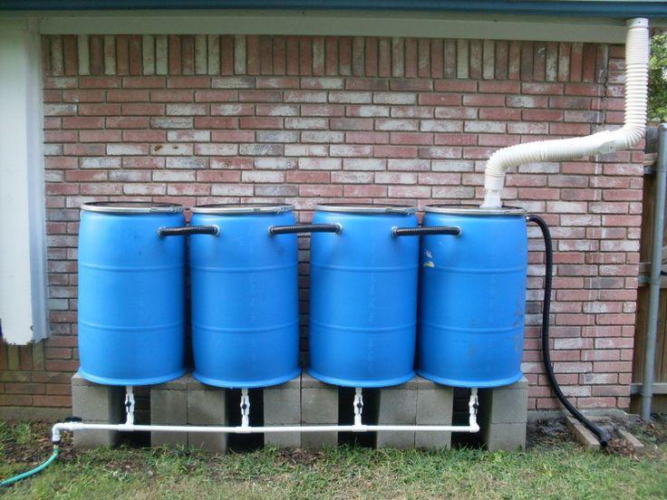 Riego con agua de lluvia. Inteligencia en el recurso.