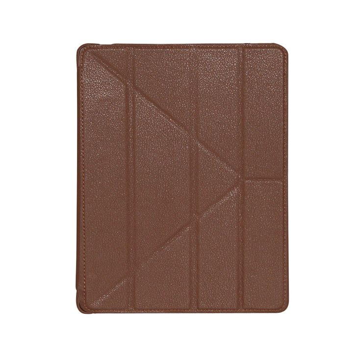 Brown, Magnetic-origami-ipad-3-4-case