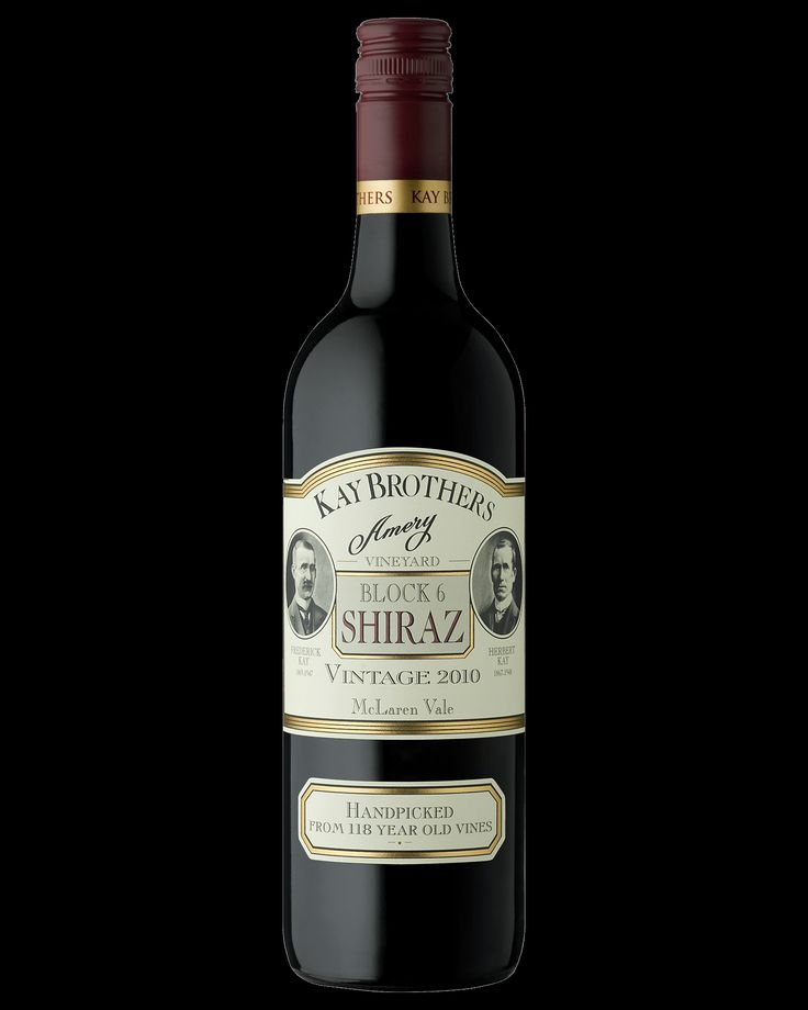 Kay Brothers Amery Vineyards Block 6 Shiraz