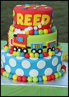 Cute boy cake