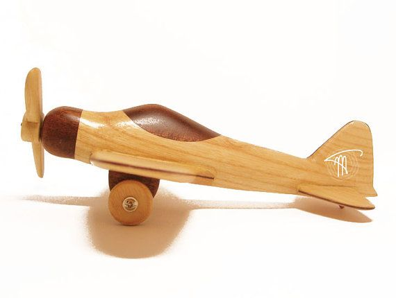 Avión madera réplica hecha a mano colección por WoodHandcraft