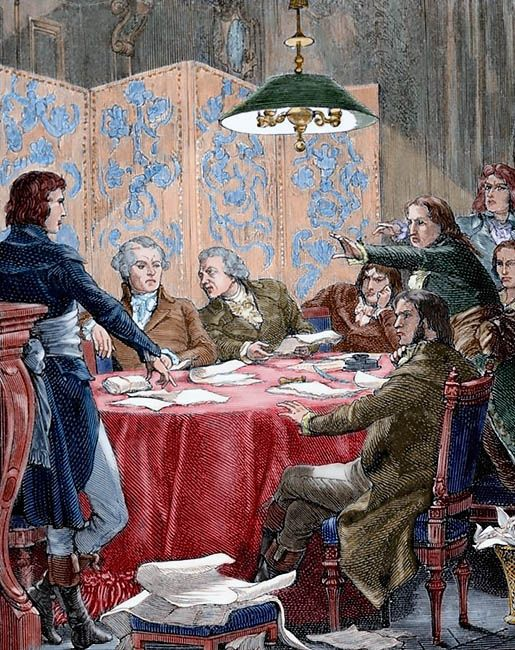 an overview of the french revolutionary committee of public safety in 18th century Robespierre becomes the leader of the committee of public safety the committee responsible for many french revolution a movement in the 18th century.