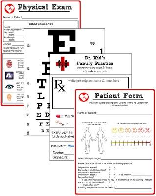Miss Poppins: Doctor Pretend Play Kit (Free Printable Kit)