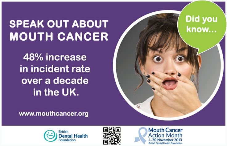 LIKE and SHARE - Mouth Cancer Action Month 2013 - Did you know? 48% increase in incident rate over a decade in the UK. http://www.mouthcancer.org/page/facts-and-figures #MCAM #MouthCancer #Facts #Figures