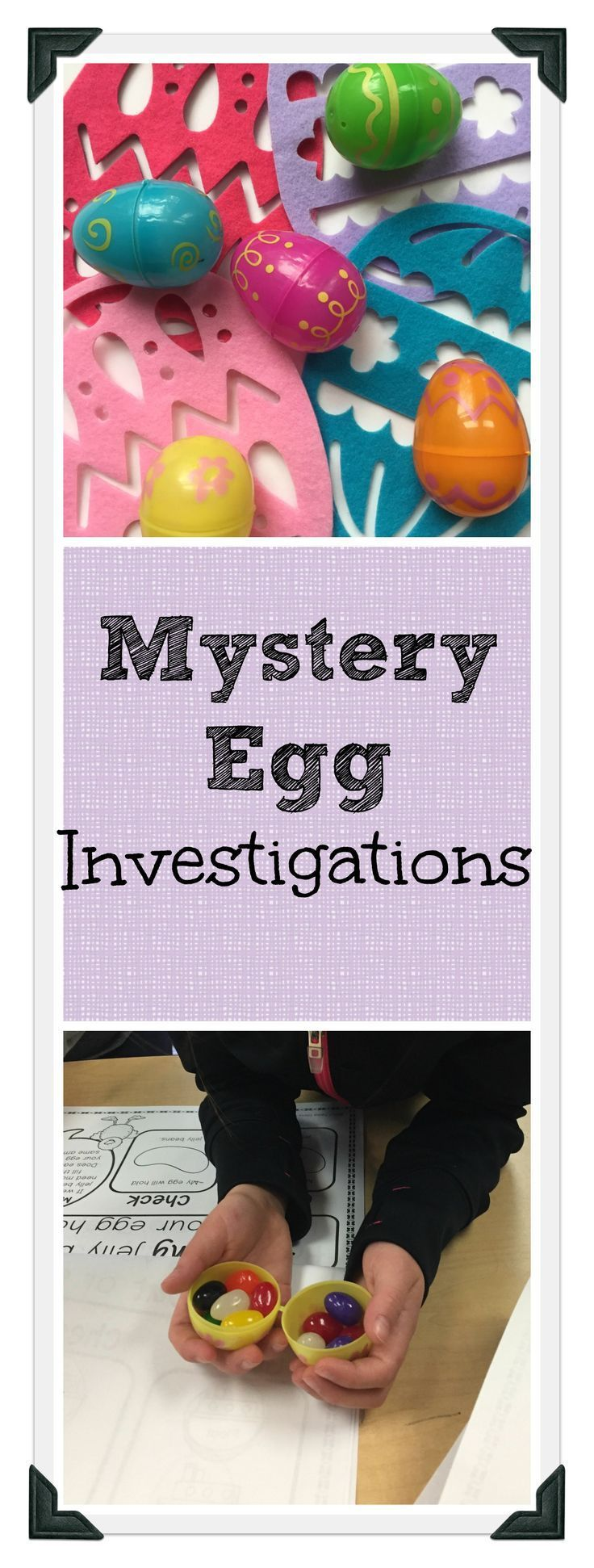 Looking for fun, hands-on Easter activities and challenges for kindergarten and first (1st) grade students? This math and science project begins when children are given a plastic mystery egg to fill with a surprise.  Students do STEM experiments to find out more about their egg's properties. As children shake, measure, weigh, float/sink, and roll their egg, they gain clues about what's inside and record results on printable recording sheets.  Great ideas for learning in centers or small…
