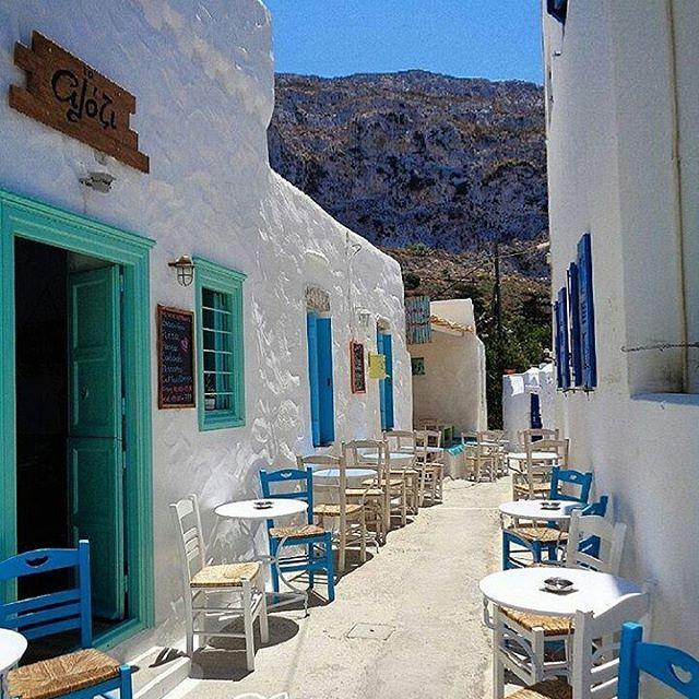 Amorgos island, Greece ... #amorgos #cyclades #greece By @chzis11.