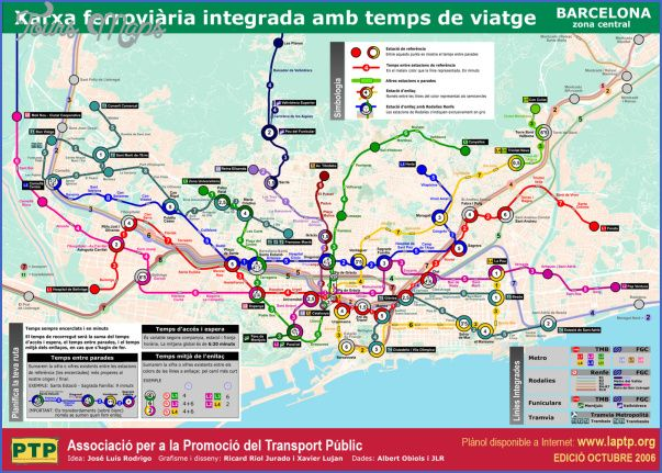 cool Barcelona Map Tourist Attractions